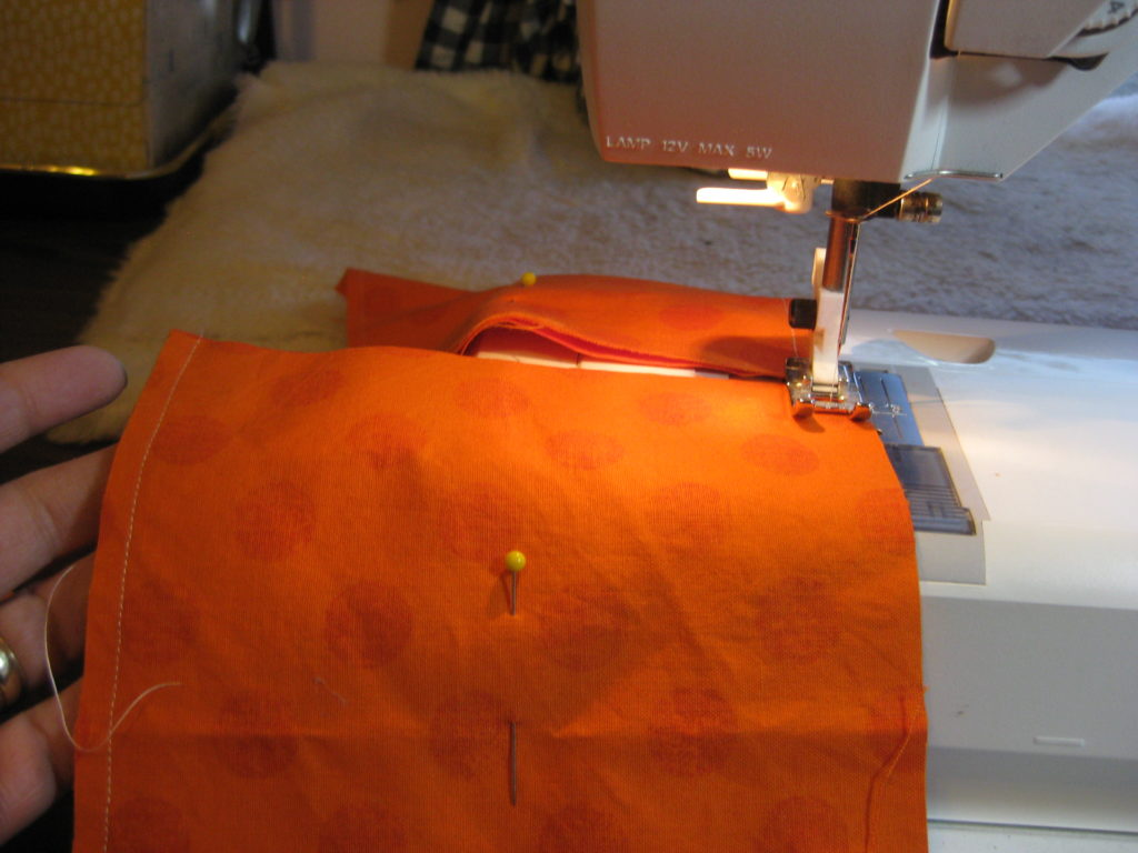 Sewing seams