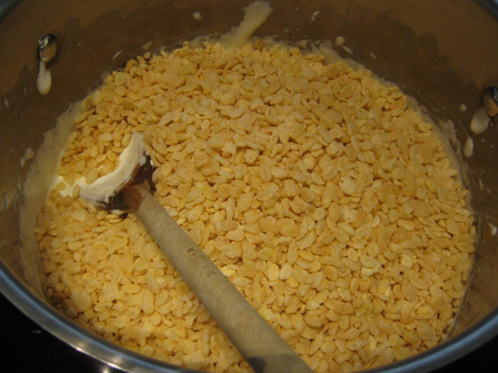 add Rice Krispies